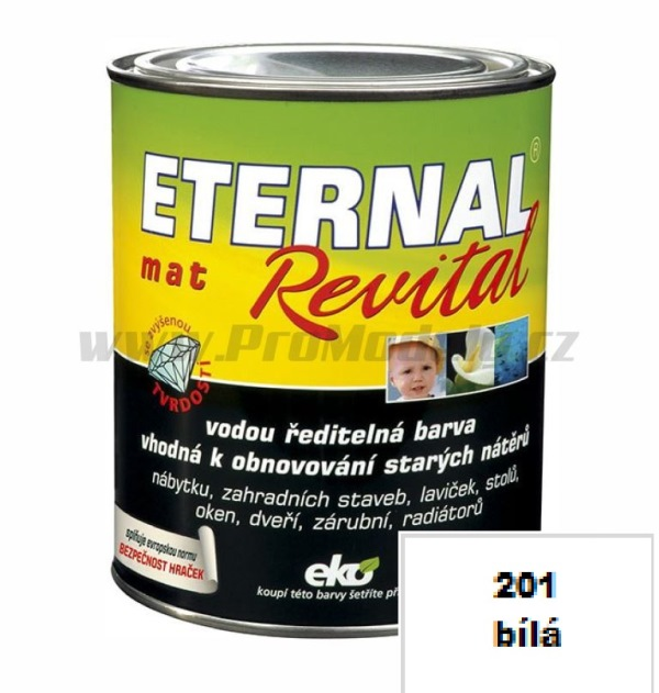 Eternal mat Revital, bílá 0,1kg
