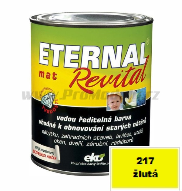 Eternal mat Revital, žlutá 0,35kg