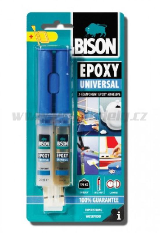 BISON EPOXY UNIVERSAL 24ml