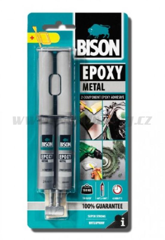 BISON EPOXY METAL 24ml