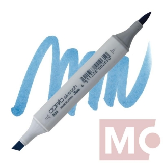 B34 Manganese blue COPIC Sketch