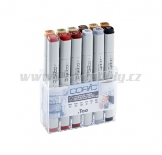 Copic Original 12ks, pro architekturu