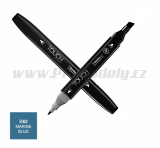B62 Marine blue TOUCH Twin Marker