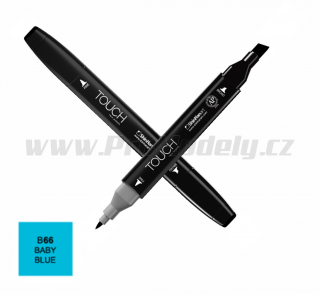 B66 Baby blue TOUCH Twin Marker