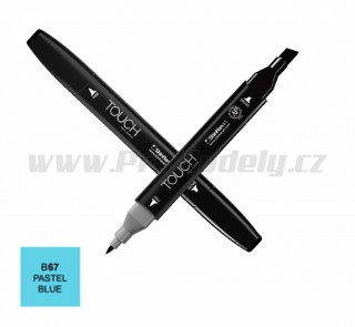B67 Pastel blue TOUCH Twin Marker
