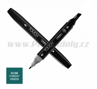 BG50 Forest green TOUCH Twin Marker