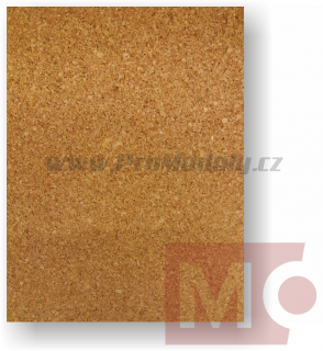 Korek natural 2mm, 250x500mm