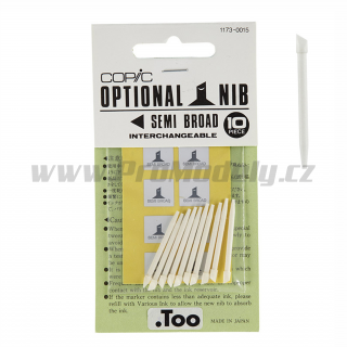Hrot Copic Original SEMI BROAD, 1ks