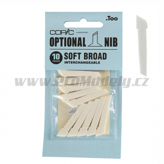 Hrot Copic Original SOFT BROAD, 1ks