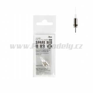 Hrot Copic Multiliner SP 0,03mm, 1ks