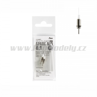 Hrot Copic Multiliner SP 0,1mm, 1ks