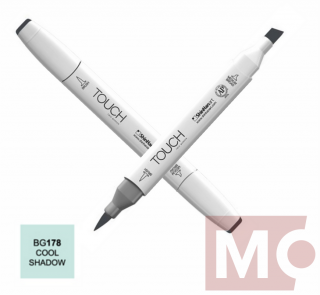 BG178 Cool shadow TOUCH Twin Brush Marker