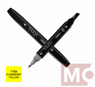 F123 Fluorescent yellow TOUCH Twin Marker