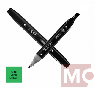 G46 Vivid green TOUCH Twin Marker